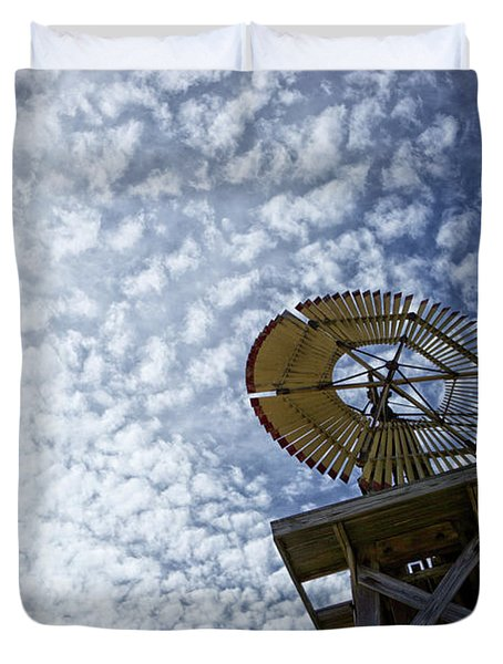 Skyward Duvet Cover by Erika Weber