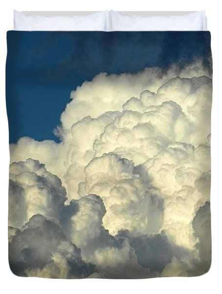 Skyward Sculpture Duvet Cover