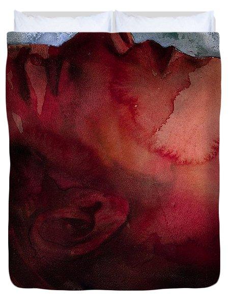 Sleeper Head Duvet Cover by Graham Dean