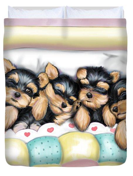 Sleeping Babies Duvet Cover