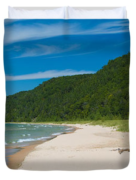 Sleeping Bear Dunes National Lakeshore Duvet Cover by Sebastian Musial