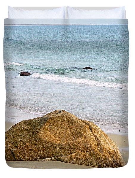 Sleeping Giant  Duvet Cover by Kathy Barney