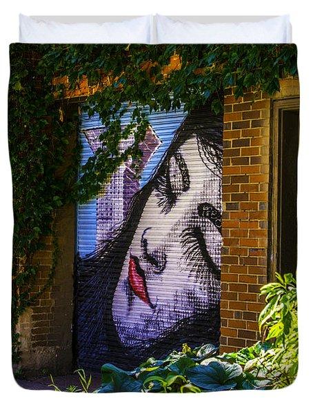 Sleeping Lady No Watermark Duvet Cover