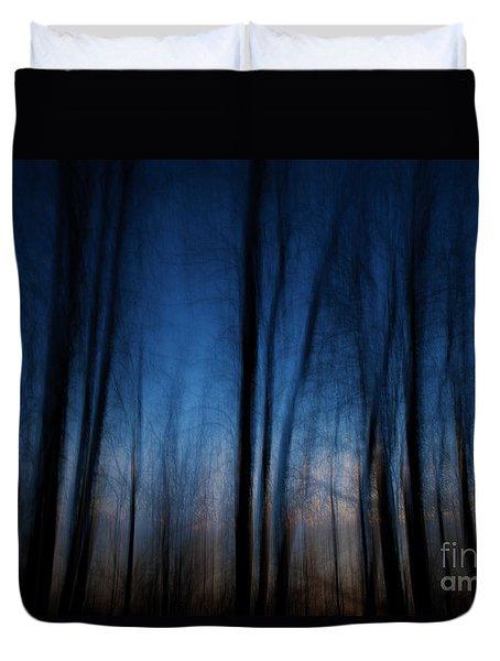 Sleepwalking... Duvet Cover by Nina Stavlund