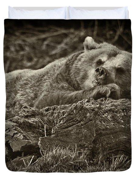Sleepy Bear Duvet Cover