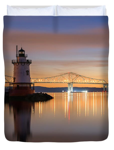 Sleepy Hollow Light Reflections  Duvet Cover