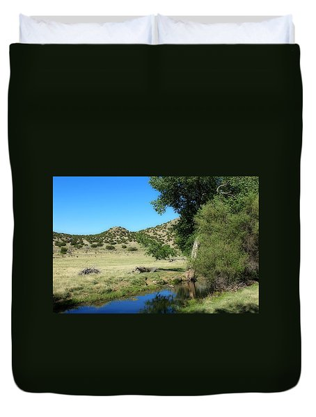 Duvet Cover featuring the photograph Sleepy Summer Afternoon by Elizabeth Sullivan