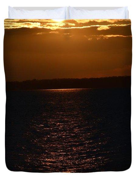 Slice Of Sun Duvet Cover