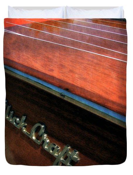 Slick Craft Powerboat Duvet Cover