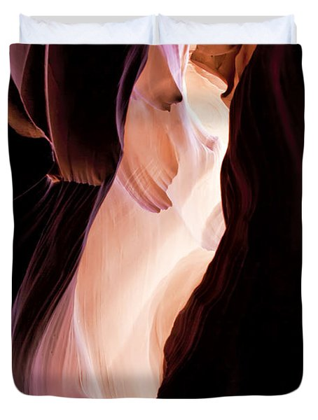 Slot Canyon Arizona Duvet Cover