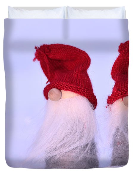 Small Santa Claus Duvet Cover by Tommytechno Sweden
