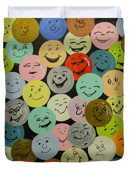Smilies Duvet Cover