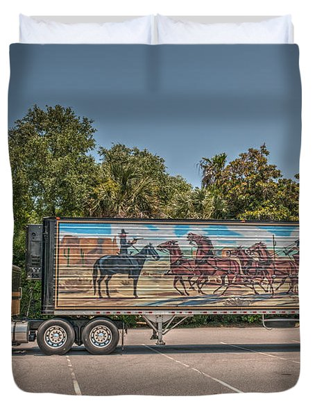 Smokey And The Bandit Duvet Cover