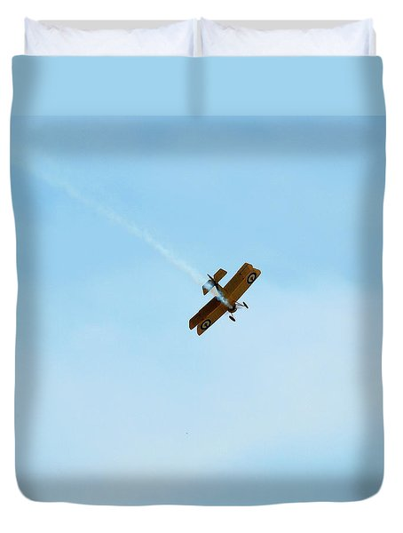 Smokin Duvet Cover by Thomas Young