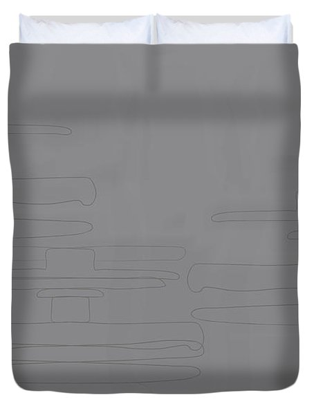 Smoky Cliff Duvet Cover