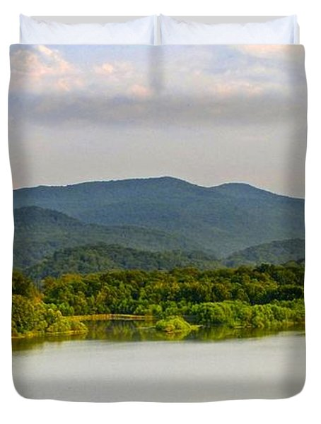 Smoky Mountains Duvet Cover by Frozen in Time Fine Art Photography