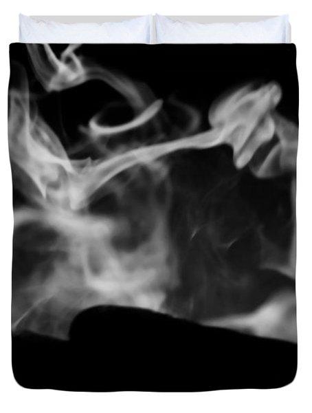 Smoldering Duvet Cover by Jessica Shelton