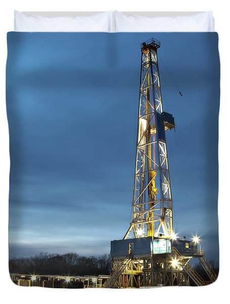 Smooth Drilling Duvet Cover