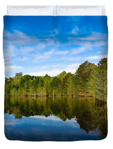 Smooth Reflection Duvet Cover