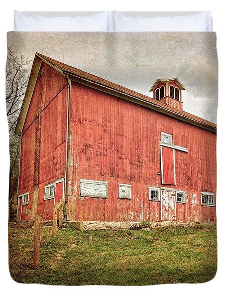 Smyrski Farm  Duvet Cover by Bill Wakeley