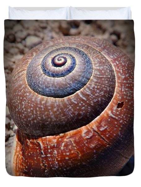 Snail Beauty Duvet Cover by Clare Bevan