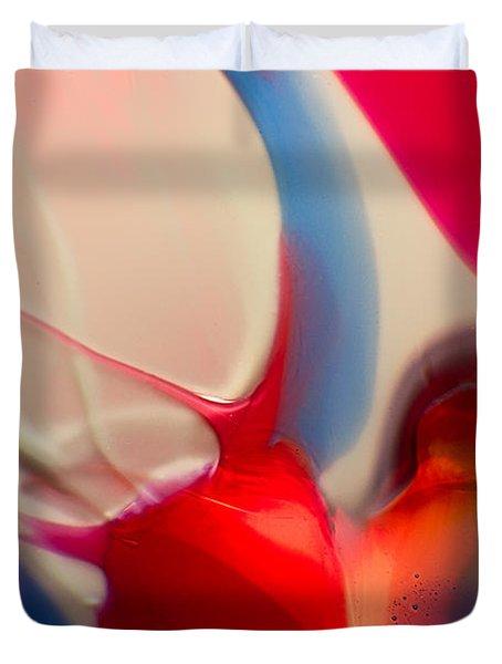 Snails Paradise Duvet Cover by Omaste Witkowski
