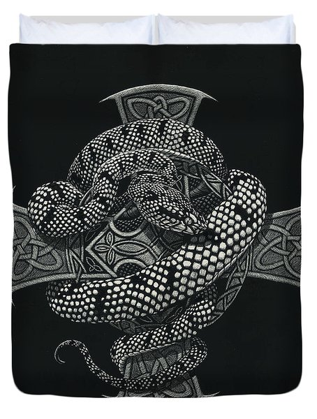 Snake Cross Duvet Cover