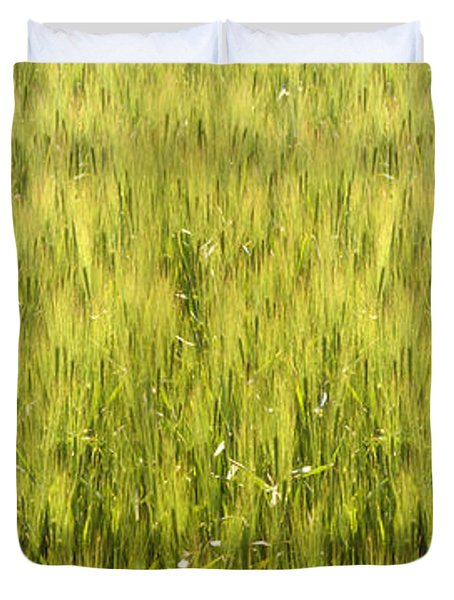 Snake In The Grass Duvet Cover