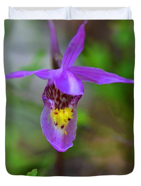 Duvet Cover featuring the digital art Snapdragon by Mae Wertz