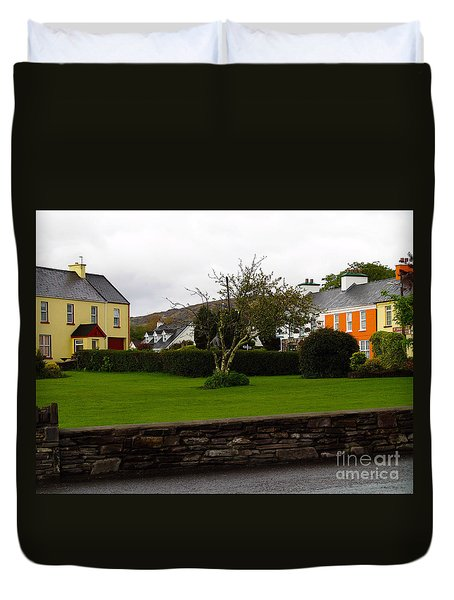 Sneem- Home Of The Blue Bull Duvet Cover