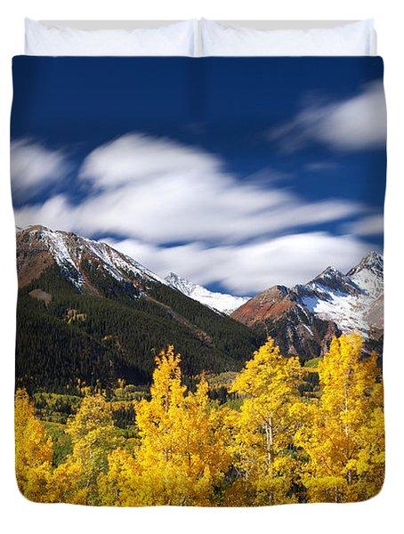 Sneffels Winds Duvet Cover by Darren  White