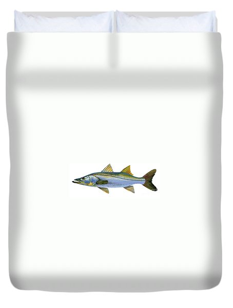 Snook Duvet Cover by Carey Chen