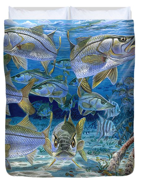 Snook Cruise In006 Duvet Cover by Carey Chen