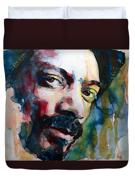 Snoop Dogg Duvet Cover by Laur Iduc