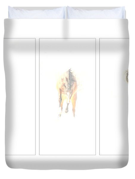 Snow Dance Duvet Cover