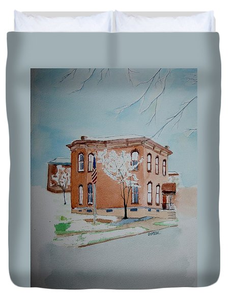 Snow In St. C 2 Duvet Cover