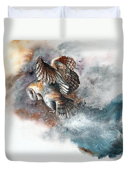 Snow Patrol Duvet Cover