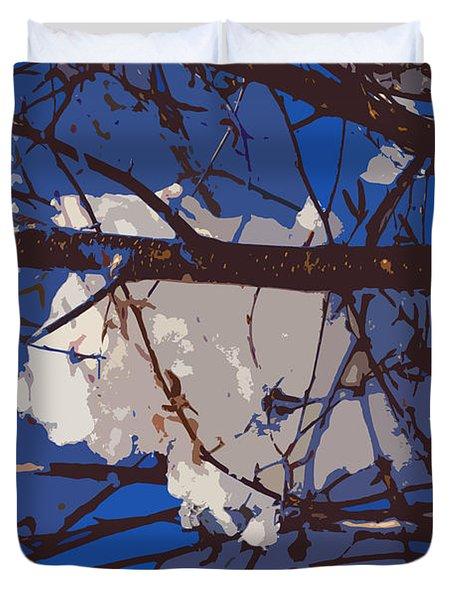 Snowball Duvet Cover by Carol Lynch