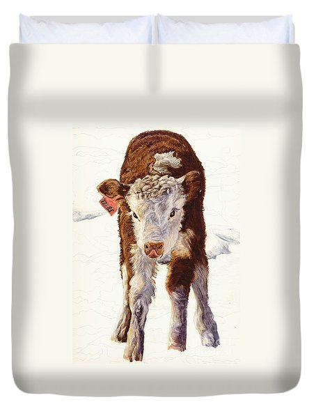 Country Life Winter Baby Calf Duvet Cover