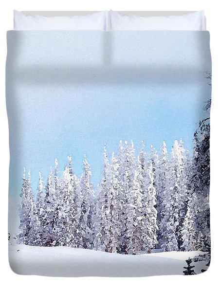 Snowbound Duvet Cover