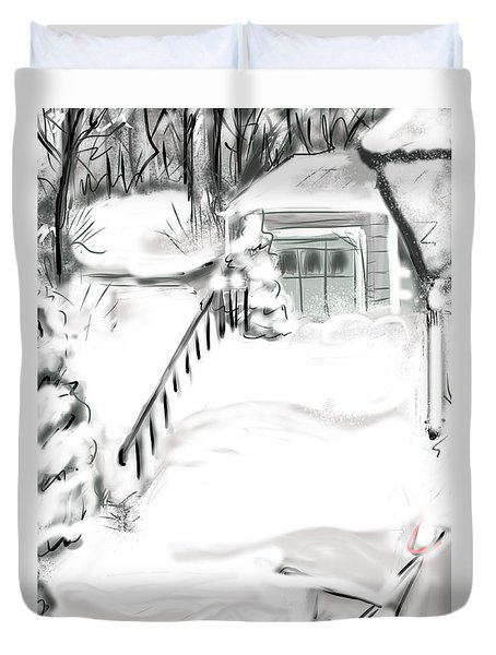 Snowbound Duvet Cover