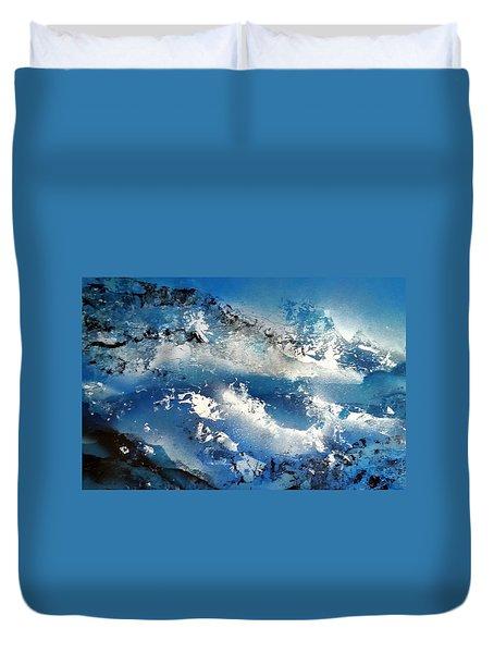 Snowcaps Duvet Cover