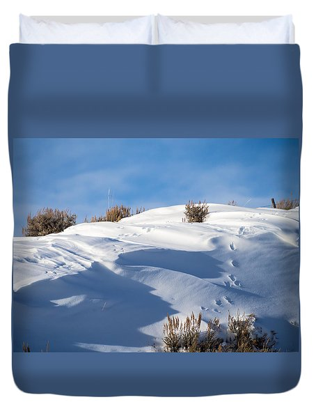Snowdrifts Duvet Cover