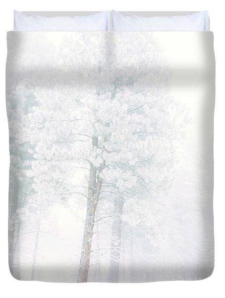 Snowed In Duvet Cover by Tara Turner