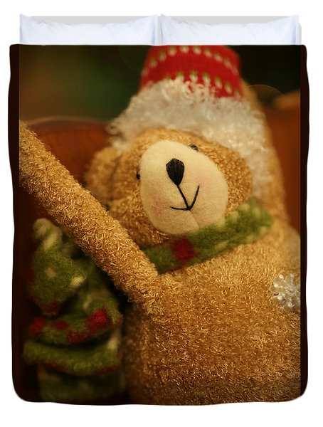 Snowflake Duvet Cover by Linda Shafer