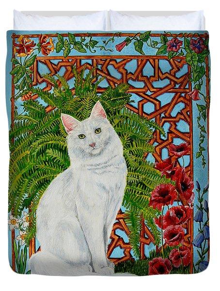 Snowi's Garden Duvet Cover by Leena Pekkalainen