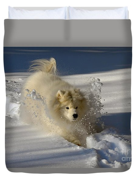 Snowplow Duvet Cover