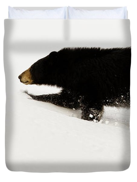 Snowy Bear Duvet Cover