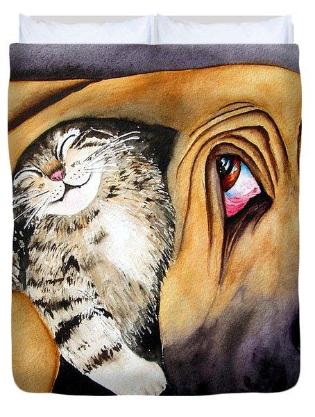Snuggles Duvet Cover