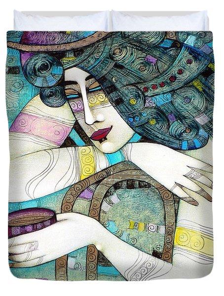 So Many Memories... Duvet Cover by Albena Vatcheva